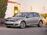 Images of Volkswagen Golf TSI BlueMotion 5-door (Typ 5G) 2012