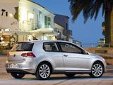 Images of Volkswagen Golf TSI BlueMotion 3-door (Typ 5G) 2012