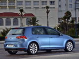 Images of Volkswagen Golf TSI BlueMotion 5-door ZA-spec (Typ 5G) 2013