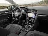 Images of Volkswagen Golf TSI Variant (Typ 5G) 2017