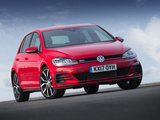 Images of Volkswagen Golf GTI 5-door UK-spec (5G) 2017