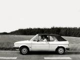 Photos of Volkswagen Golf Cabrio (Typ 17) 1979–88