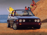 Photos of Volkswagen Cabriolet (Typ 17) 1988–93
