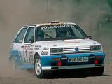 Photos of Volkswagen Golf Rallye G60 Rally Car (Typ 1G) 1990