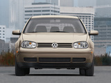 Photos of Volkswagen Golf 2.0 5-door US-spec (Typ 1J) 1999–2003