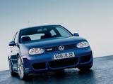 Photos of Volkswagen Golf R32 (Typ 1J) 2002–04