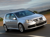 Photos of Volkswagen Golf R32 5-door ZA-spec (Typ 1K) 2006–08