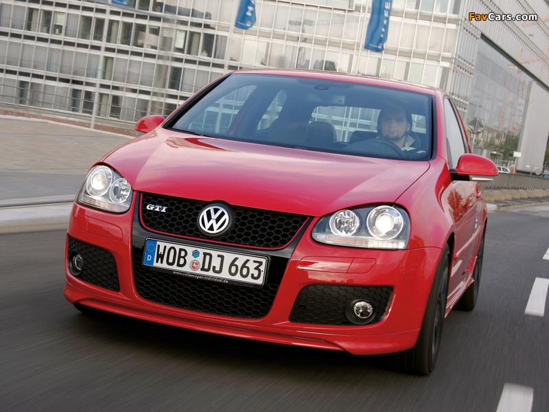 Photos of Volkswagen Golf GTI Edition 30 (Typ 1K) 2007 (800 x 600)