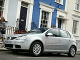 Photos of Volkswagen Golf Blue Motion (Typ 1K) 2008
