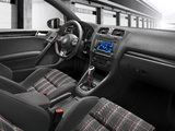 Photos of Volkswagen Golf GTI 3-door (Typ 5K) 2009–13