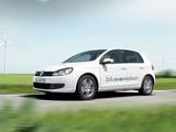 Photos of Volkswagen Golf Blue-e-motion Prototype (Typ 5K) 2010