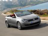 Photos of Volkswagen Golf Cabrio (Typ 5K) 2011