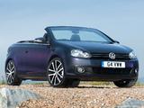 Photos of Volkswagen Golf Cabrio UK-spec (Typ 5K) 2011