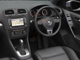 Photos of Volkswagen Golf Cabrio AU-spec (Typ 5K) 2011