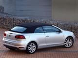 Photos of Volkswagen Golf Cabrio ZA-spec (Typ 5K) 2012