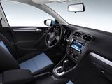 Photos of Volkswagen Golf BlueMotion CN-spec (Typ 5K) 2012