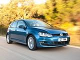 Photos of Volkswagen Golf TDI BlueMotion 5-door UK-spec (Typ 5G) 2012