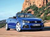 Photos of Volkswagen Golf R Cabriolet 2013