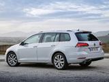 Photos of Volkswagen Golf TSI Variant (Typ 5G) 2017