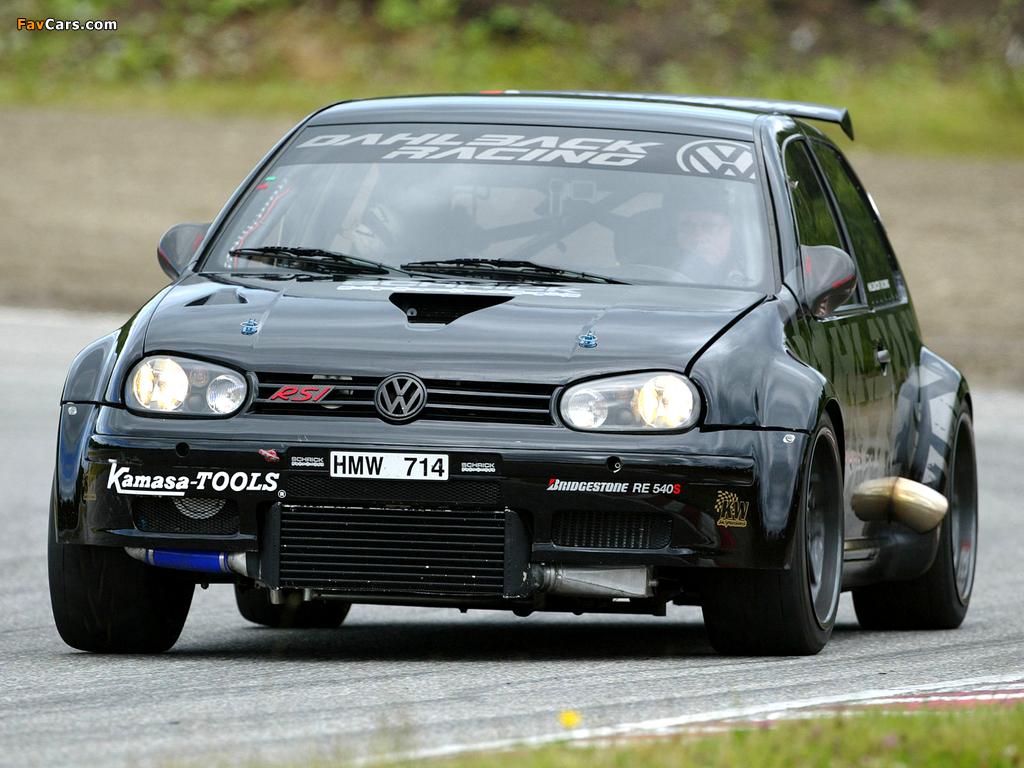 Photos of Volkswagen Golf RSI by Dahlback Racing (1J) (1024 x 768)