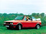 Pictures of Volkswagen Golf Cabrio (Typ 17) 1979–88
