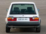 Pictures of Volkswagen Golf GTI Pirelli UK-spec (Typ 17) 1983