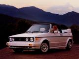 Pictures of Volkswagen Cabriolet (Typ 17) 1988–93