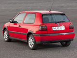 Pictures of Volkswagen Golf GTI UK-spec (Type 1H) 1992–97