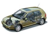 Pictures of Volkswagen Golf 5-door (Typ 1J) 1997–2003