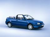 Pictures of Volkswagen Golf Cabrio Generation (Typ 1H) 1999