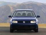 Pictures of Volkswagen Golf 1.9 TDI 5-door US-spec (Typ 1J) 1999–2003