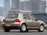 Pictures of Volkswagen Golf 2.0 5-door US-spec (Typ 1J) 1999–2003