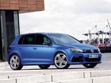 Pictures of Volkswagen Golf R 5-door (Typ 5K) 2009