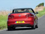Pictures of Volkswagen Golf Cabrio UK-spec (Typ 5K) 2011
