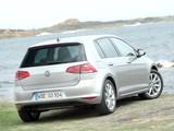Pictures of Volkswagen Golf TSI BlueMotion 5-door (Typ 5G) 2012