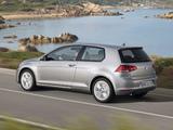 Pictures of Volkswagen Golf TSI BlueMotion 3-door (Typ 5G) 2012
