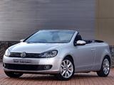 Pictures of Volkswagen Golf Cabrio ZA-spec (Typ 5K) 2012