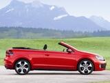 Pictures of Volkswagen Golf GTI Cabriolet (Typ 5K) 2012