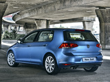 Pictures of Volkswagen Golf TSI BlueMotion 5-door ZA-spec (Typ 5G) 2013