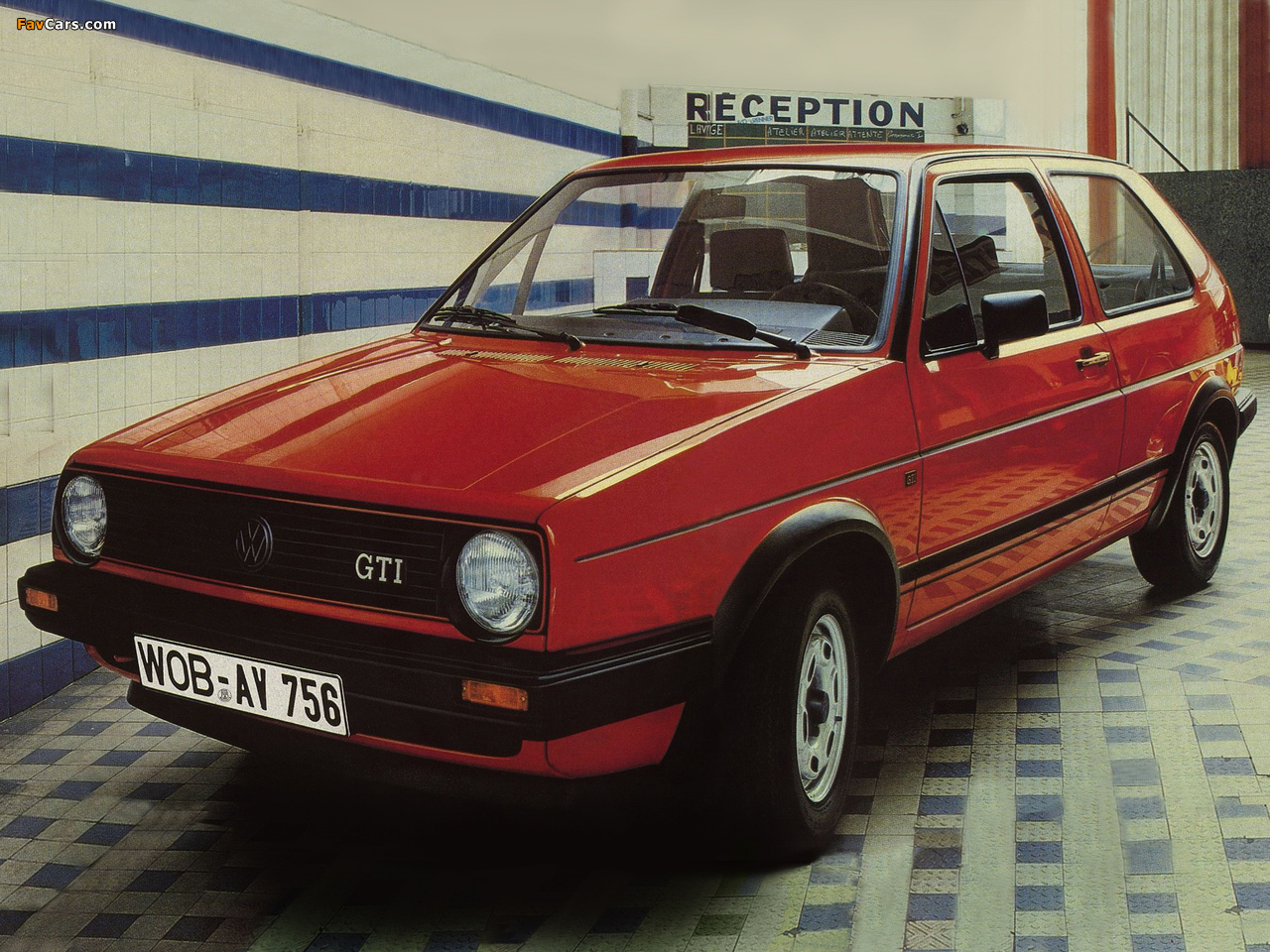 Volkswagen Golf Gti Typ 19 1984 86 Wallpapers