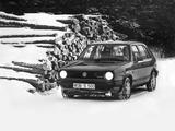 Volkswagen Golf Syncro 5-door (Typ 19) 1986–87 photos