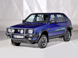 Volkswagen Golf Country (Typ 1G) 1990–91 images
