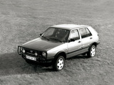 Volkswagen Golf Country (Typ 1G) 1990–91 pictures