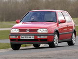 Volkswagen Golf GTI UK-spec (Type 1H) 1992–97 images
