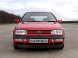 Volkswagen Golf GTI UK-spec (Type 1H) 1992–97 pictures