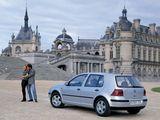 Volkswagen Golf 5-door (Typ 1J) 1997–2003 images