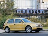 Volkswagen Golf 3-door (Typ 1J) 1997–2003 pictures