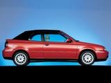 Volkswagen Golf Cabrio (Typ 1J) 1998–2002 images