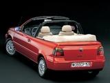 Volkswagen Golf Cabrio (Typ 1J) 1998–2002 pictures