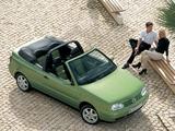 Volkswagen Golf Cabrio (Typ 1J) 1998–2002 wallpapers